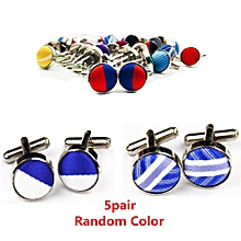 Jewelry Sets & More 1pair Mens Dress Round Cloth Cufflinks For Busines Shirt Wedding Party Mens Cufflink 8 Colors Cloth Round Cufflinks Wholesales Latest Fashion Jewelry & Accessories