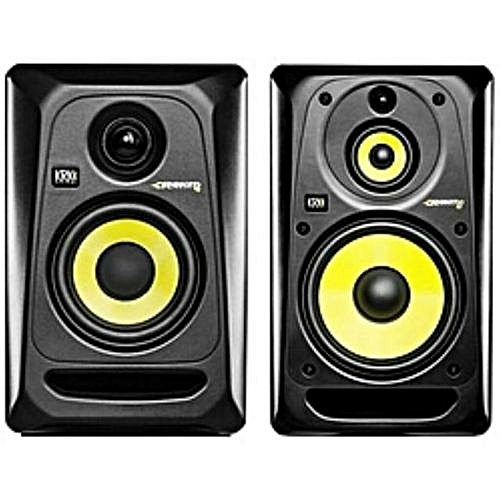 ROKIT 5 - STUDIO MONITOR SPEAKER - 2 Pieces - Black