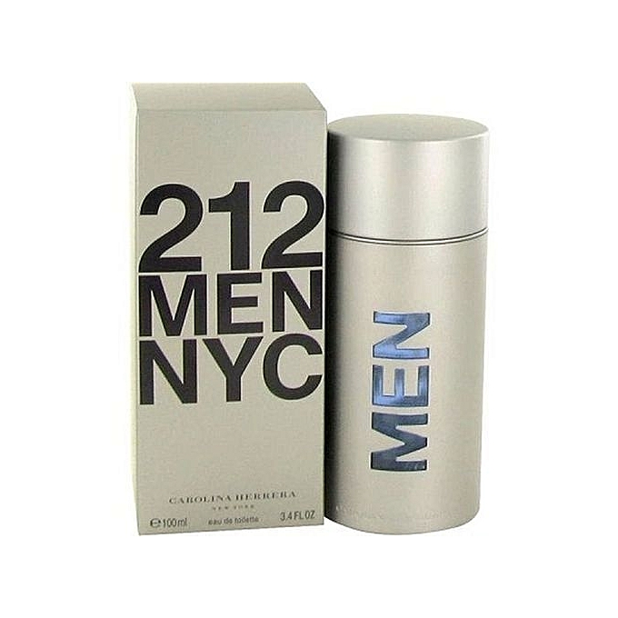 Buy Carolina Herrera 212 Nyc Men Edt 100ml Best Price