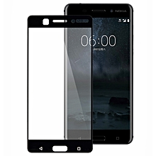 Nokia 6 Screen Protector Tempered Glass Screen Protector Black