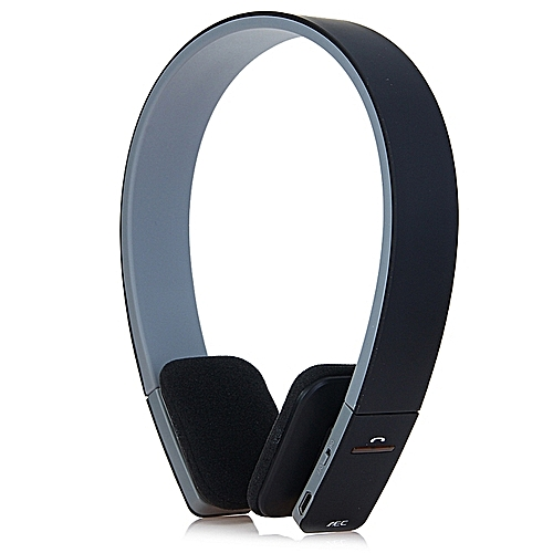 Stereo Headphones Support 3.5mm Stereo Audio Input-Black
