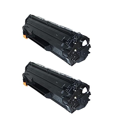 85A Laserjet Toner Cartridge - 2 Set