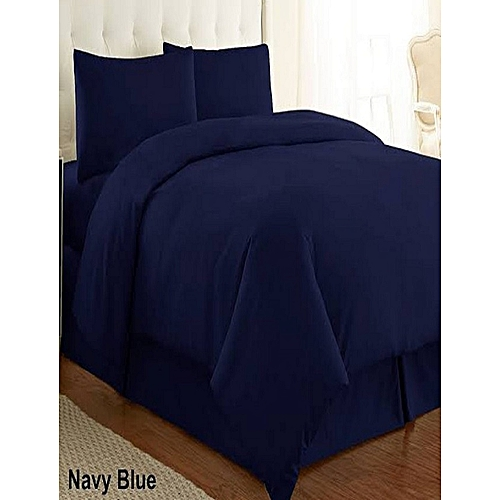 Duvet Cover With Pillowcases-Blue