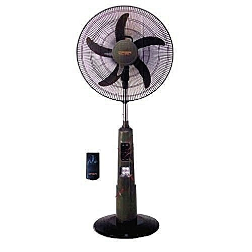 16 Inches Rechargeable Fan With Remote & USB Port