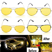 984237a8957 Unisex Night Driving Glasses Glare Vision Driver Safety Sunglasses Goggles  Adult