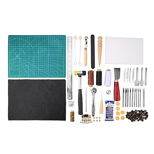 Leather Craft Tool Kits DIY Leather Sewing Tools For Leather Canvas Cloth