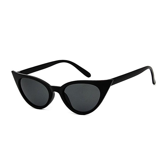 6e10c91052 ... Vintage Cat Eye Women Sunglasses PC Frame Resin Lens UV400 Eyewear  Glasses ...
