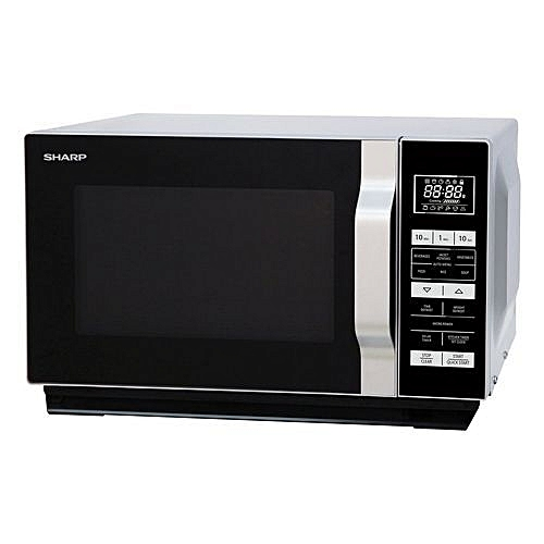23 Litre Flatbed Touch Control Digital Microwave With Grill R760SLM