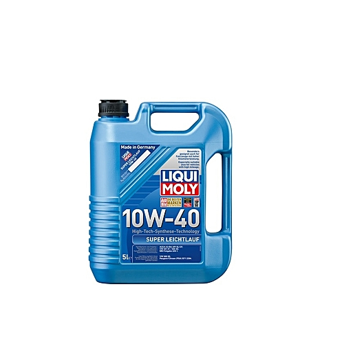 liqui moly engine oil super leichtlauf 10w 40 5l jumia. Black Bedroom Furniture Sets. Home Design Ideas