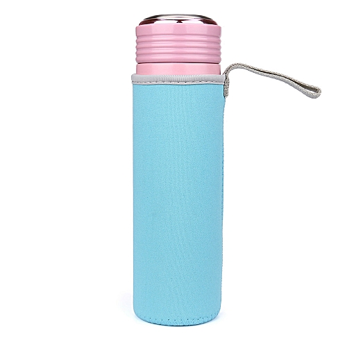 Sport Water Bottle Cover Neoprene Insulator Sleeve Bag Case Pouch For 420ML