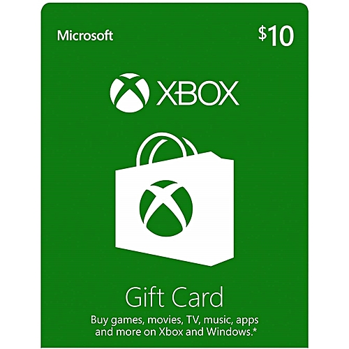 Xbox $10 Gift Card