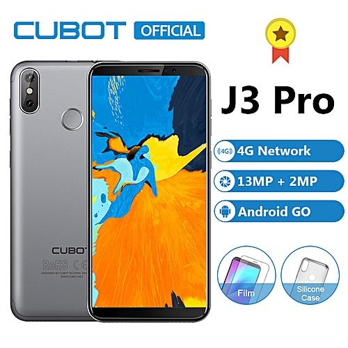 Cubot j3 Pro - 5.5 Fingerprint Android Go 1gb 16gb 2800mAh eu 4g Smartphone - Gray
