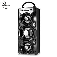 Redmaine MS-134BT Portable FM Radio Wireless Bluetooth Speaker Black