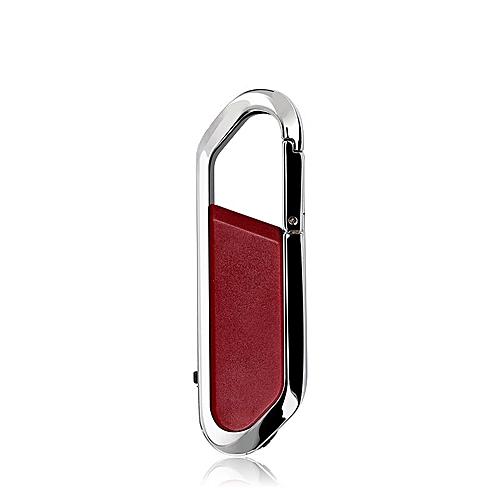 8GB USB 2.0 Metal USB Flash Drives U Disk (Red)