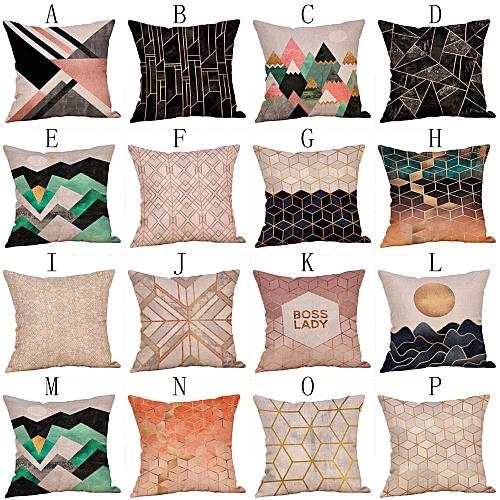 Dtrestocy Multicolor Pillow Sequin Cover Glitter Sofa Waist Throw Cushion Case Home Decor