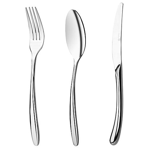 Stainless Steel Dinner Spoons Forks Knife Spoon