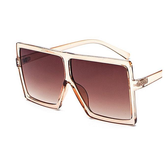 a35663997d Kaleidoscope Glasses Women Oversized Sunglasses Designer Big Frame Female  Eyewears Vintage Sun Glasses For Women