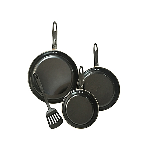 3pcs Strong Non Stick Frypan (Doesn't Get Food Burnt)