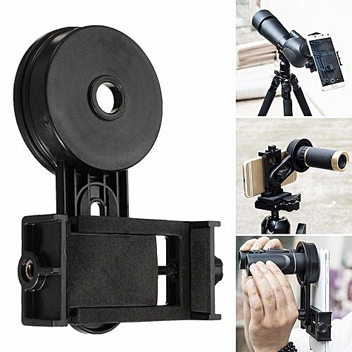 Beautygirl Universal Cell Phone Adapter Mount Binocular Monocular Spotting Scope Telescope