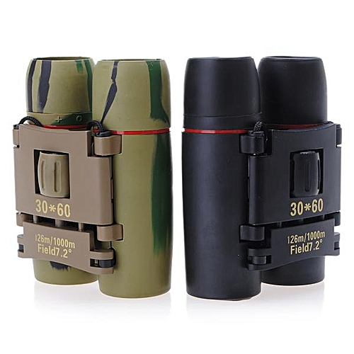 Sakura 30*60 Mini/Fold Binoculars Fully Coated Lens For A Brighter Image Magnification 30X