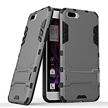 OPPO R11 Plus Case, 2 In 1 Hybrid Rugged Armor Defender Cases Covers Slim Thin