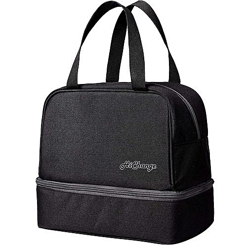 Lunch Bags Box For Women Men Adults Kids With Double Decker
