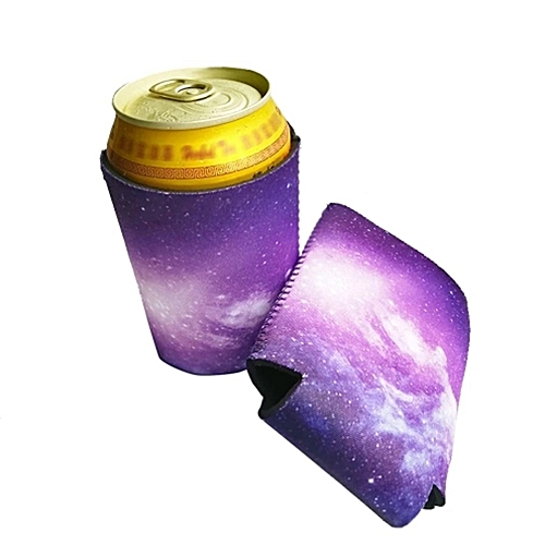 Funny Can Cooler Holder Beer Beverage Drink Bottle Sleeve Cover Party Favors Purple