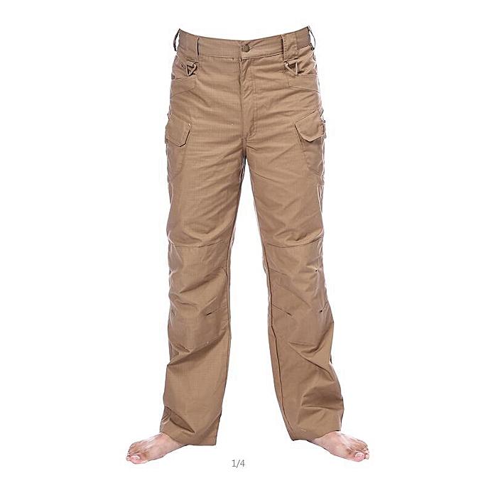 New Urban Tactical Pants Men Military Army Combat Assault SWAT Training  Army Trousers YKK Zipper-Yellow