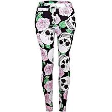 d873ec10cf98c Women Fashion Sexy Slim Print Sport Yoga Pants Sport Leggings Tights