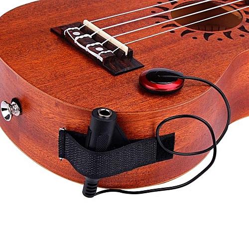 Generic Acoustic Piezo Contact Microphone Pickup For Guitar Violin Mandolin Ukulele