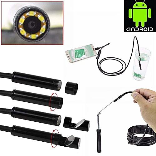 Borescope USB Inspection Camera 6 LED IP67 - Black