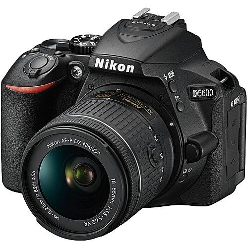 D5600 DSLR Camera With 18-55mm VR Lens - Black
