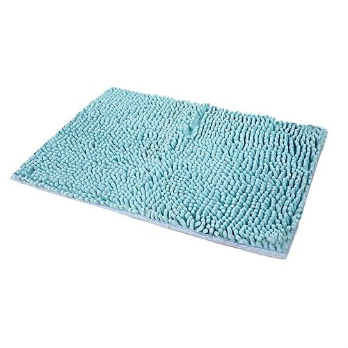 40x60CM Large Size Solid Color Microfiber Chenille Bathroom Floor Mat Doormat