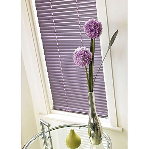 Aluminium Venetian Window Blinds (Light Purple/lilac) Prepaid Only