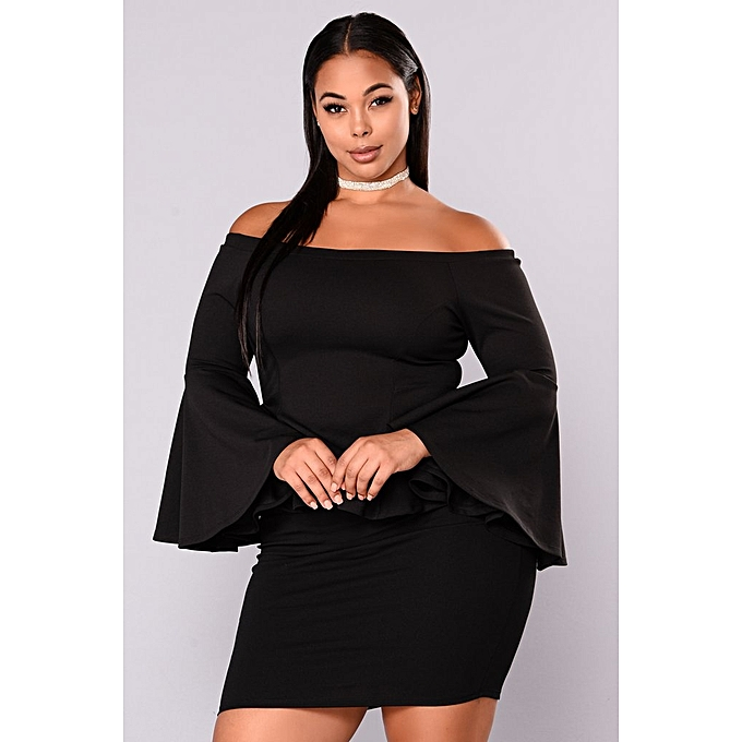 ab99a7d2692 Fashion 2 Piece Set, Peplum Off Shoulder Top & Pencil Skirt | Jumia NG