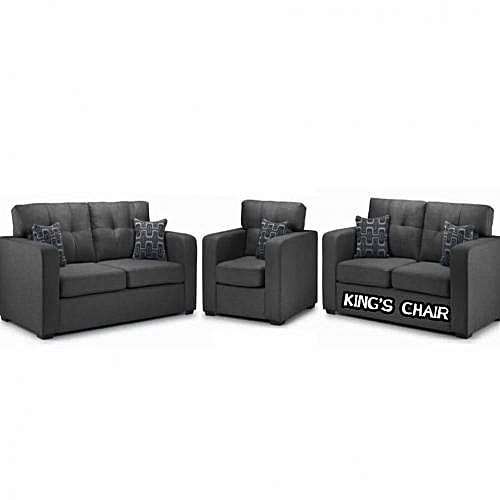 Outlander Complete Set Sofa. Grey Colour. Order Now And Get OTTOMAN Free(DELIVERY ONLY IN LAGOS)