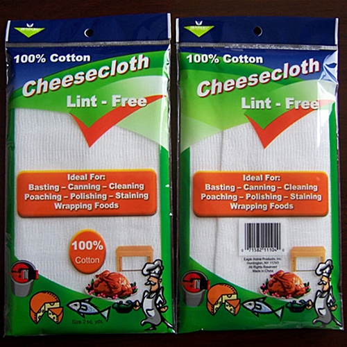 3pcs 100% Cotton Gauze Muslin Cheesecloth 2.8x0.95 M For Cheese Cloth Soft-Absorben