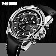 f0b10dc09 Top Luxury Men's Watches SKMEI Brand Fashion Casual Leather Sports  Watches Men