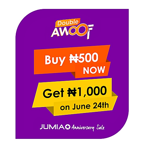 Double Awoof 500 for 1,000 JumiaPay Credit