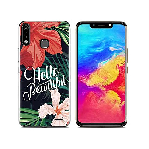 Infinix Hot7/X624 Silicone Soft Phone Case With Free Bracket