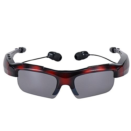 e5b5dbf80de5 Generic Sport Riding Eyes Glasses Wireless Bluetooth 4.0 Stereo Headset  Driving Call Music Handsfree Smart Sunglasses (Army Red)