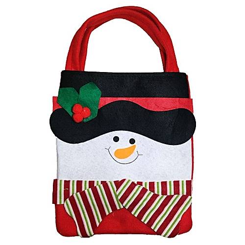 Watermalend Santa Claus Gift Bags Merry Christmas Candy Bags