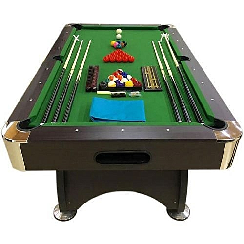 8ft Snooker Table Standard With Complete Accessories