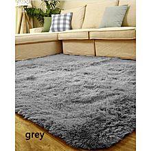 Rugs Anti Skid Shaggy Area Rug Home Bedroom Carpet Floor Mat