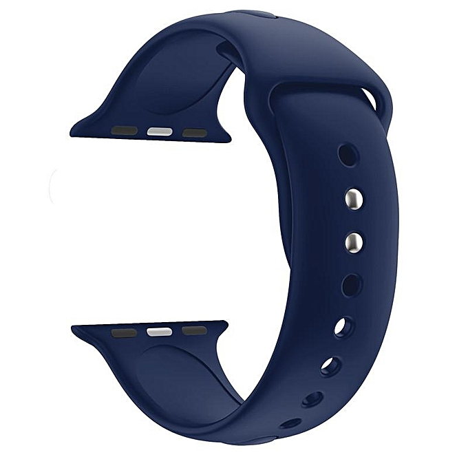 Band For Apple Watch 38mm Sport Strap For Apple Watch Band Soft Silicone  Series 3 Watchband 6c968904682d