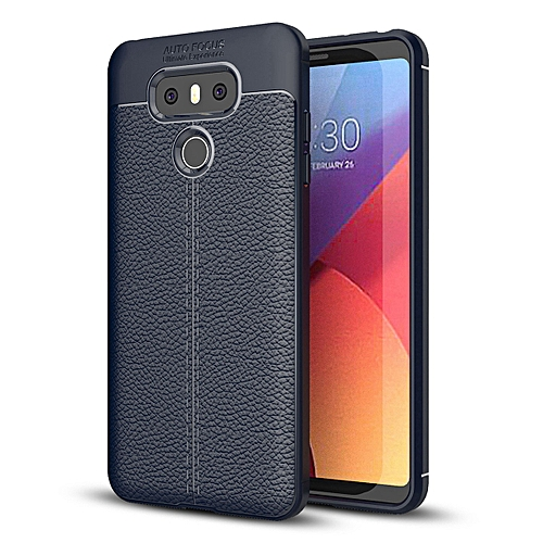 buy online f758a 1aabf Generic LG G6/LG G6 Plus Case, [Litchi Pattern] Ultra Slim Resistant ...