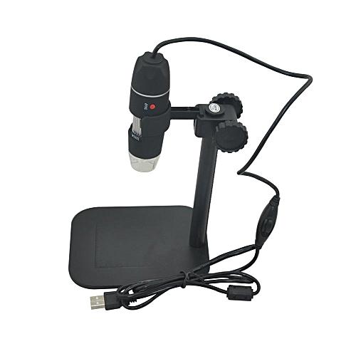 Practical Electronics 5MP USB 8 LED Digital Camera Microscope Endoscope Magnifier 50X~500X Magnification Measure MAZP-SHOP