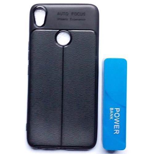 hot sale online 4c6bd e5687 Tecno Camon CX Air Flexible Case Plus Free 4500mah Power Bank