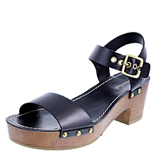 ef216d87cb6 Women  039 s Saint Platform Heeled Sandal - Black