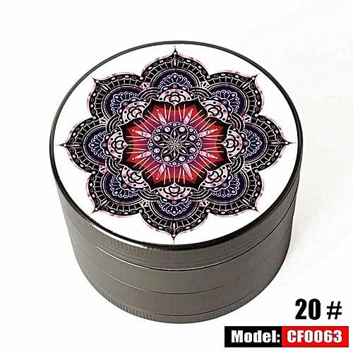 "Elegant Design Pattern 2.5"" Tools Herb Grinder Cuting"